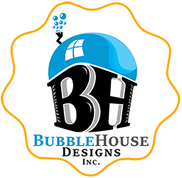 BubbleHouse Designs logo image